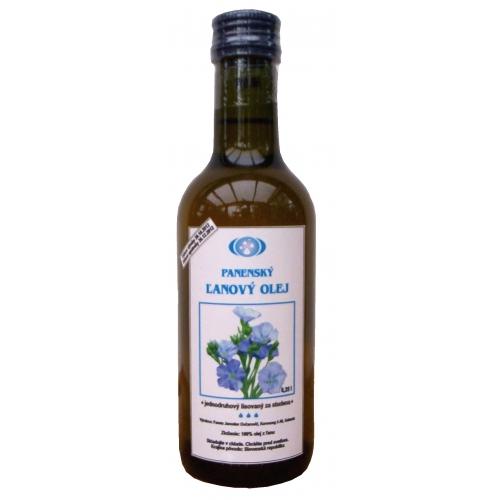 Čerstvý ľanový olej