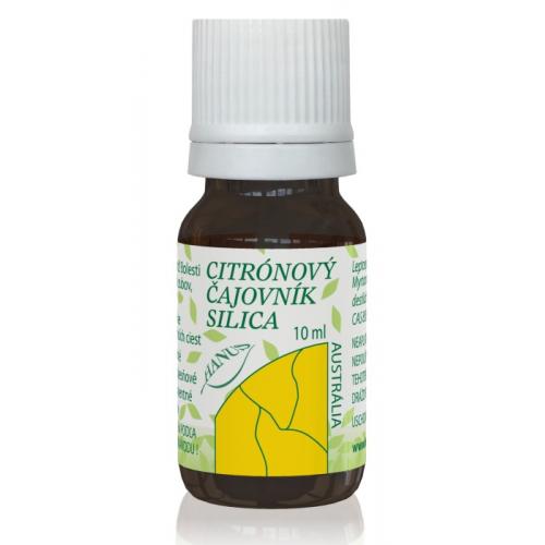 Citrónový čajovník silica 10 ml